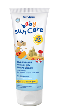 Baby Sun Care SPF25 100ml rgb LOW